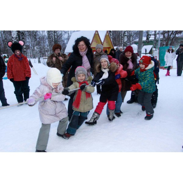 Один день в гостях у Деда Мороза
