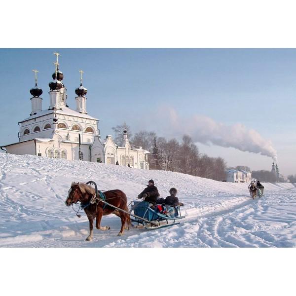 Новый год на Родине Деда Мороза